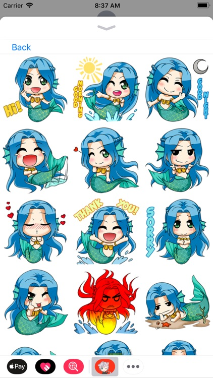 Anime Stickers Collection screenshot-8