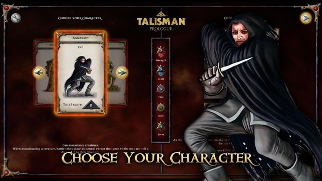 Talisman Prologue Screenshot