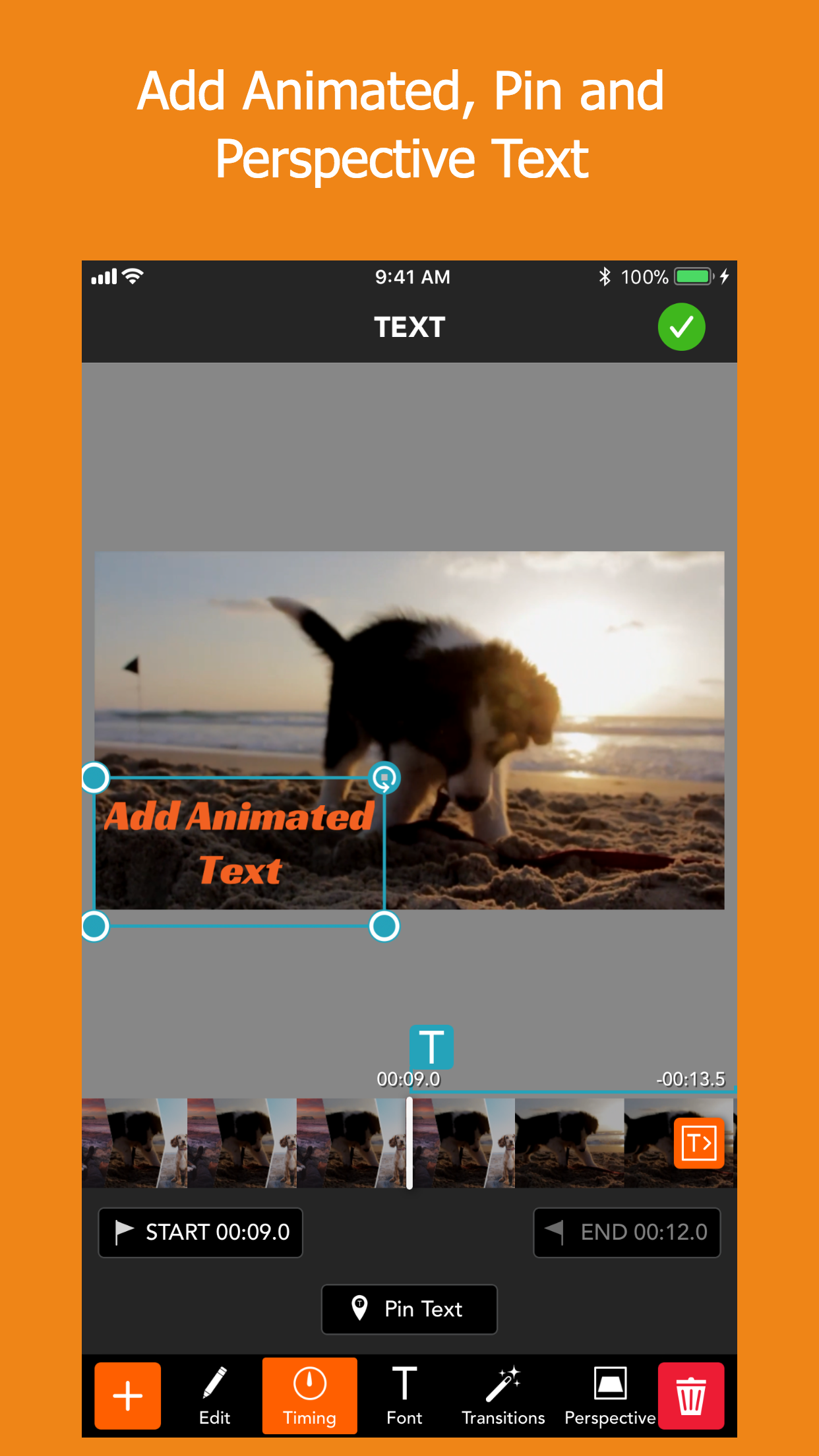 PicPlayPost Movie Video Editor Screenshot