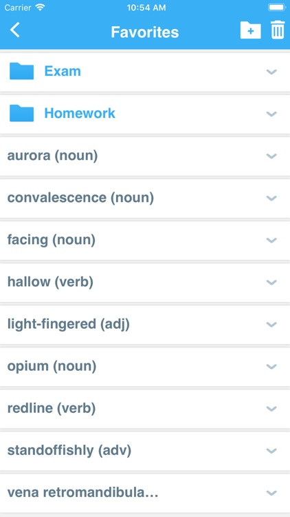 Advanced Dictionary&Thesaurus screenshot-3