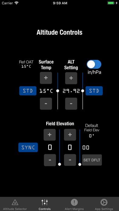 AltitudeAlert Mini screenshot two