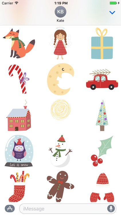 Advent Calendar & Xmas Sticker screenshot-3