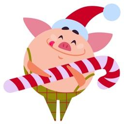 Christmas 2019 Piggy New Year