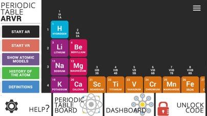 Periodic Table ARVR screenshot four