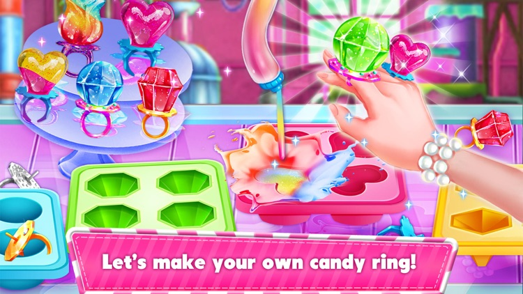 Sweet Candy Maker Games!