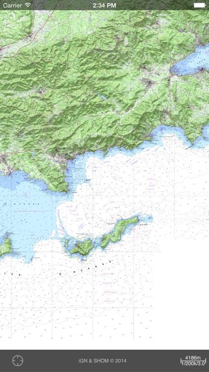 iPhiGéNie, maps of France screenshot-4