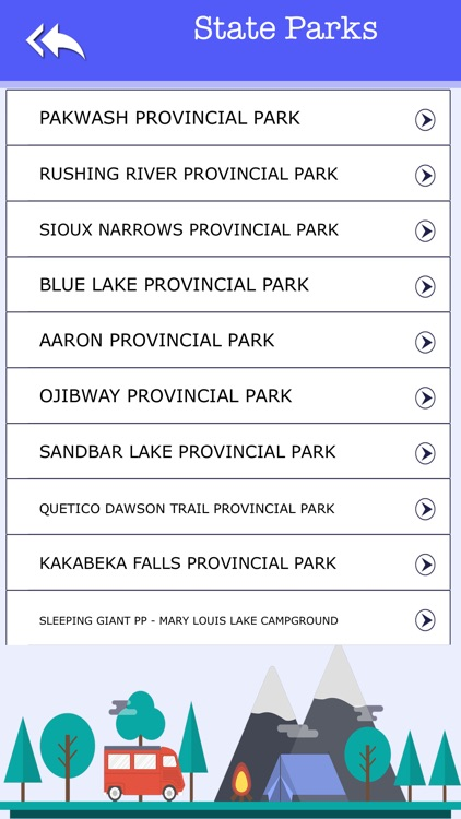 Campgrounds & Rv's In Ontario screenshot-3