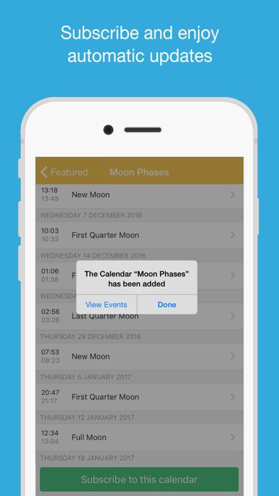 Månfaser Kalender på PC