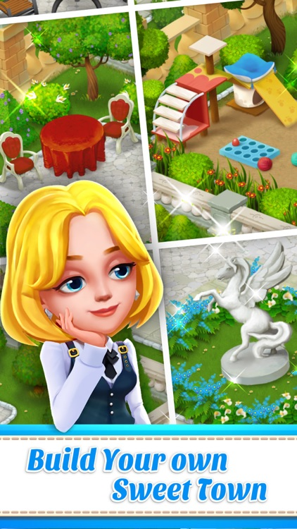 Town Story - Match 3 Puzzle screenshot-3