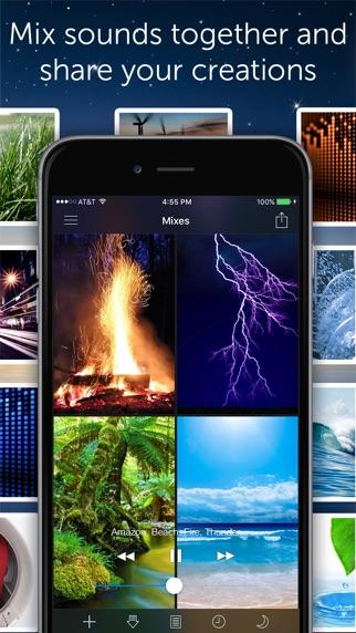 Screenshot for White Noise in Japan App Store