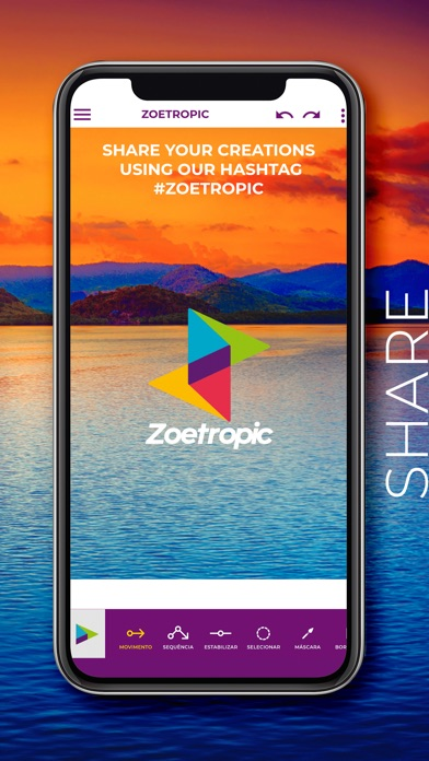 Screenshot for Zoetropic - Photo in motion in Lebanon App Store
