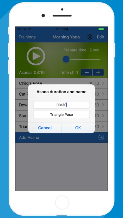 Yoga Timer for interval yoga trainings screenshot-3