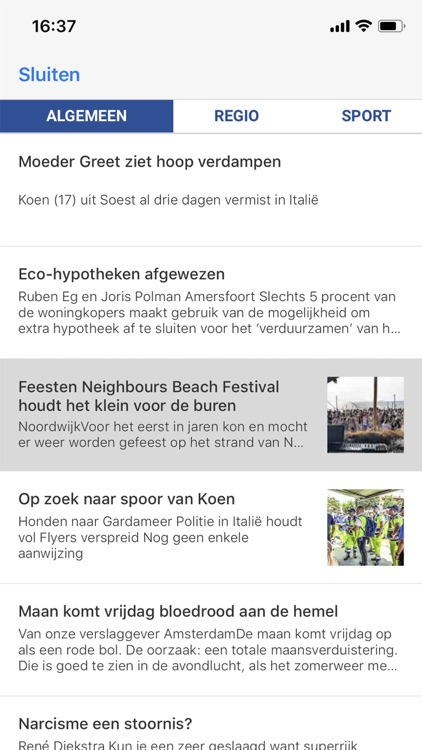 Leidsch Dagblad - krant screenshot-4