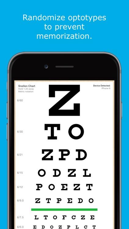 Eye Chart HD - Screen Vision