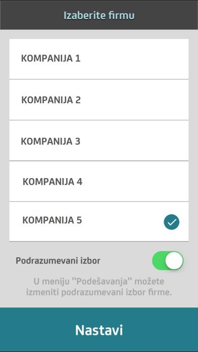 mBiznis Screenshot on iOS