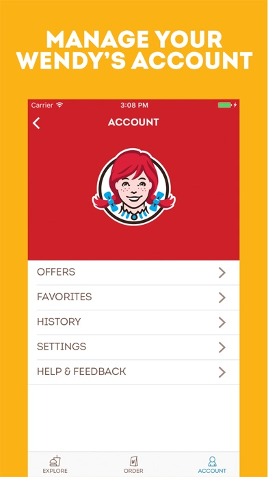 Wendy's App Report on Mobile Action