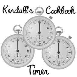 Kendalls Cookbook Triple Timer