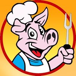 Barbecue BBQ Stickers