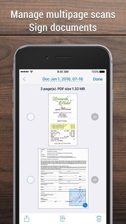 Scanner App: Scan PDF Document screenshot-3