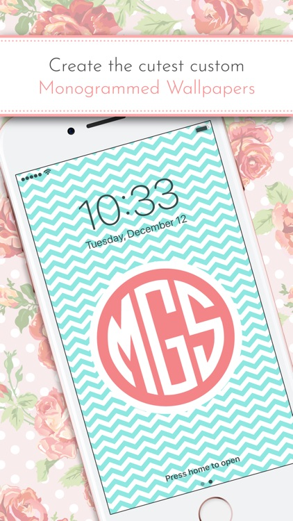 Monogram It! Lite screenshot-0