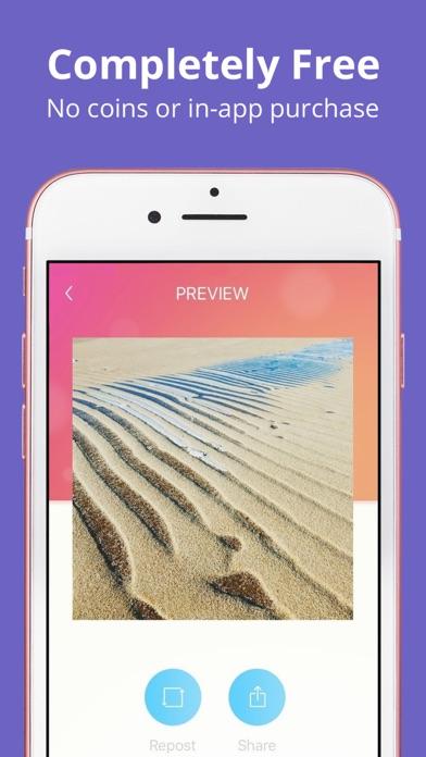 Regrammer - Instagram reposter app image