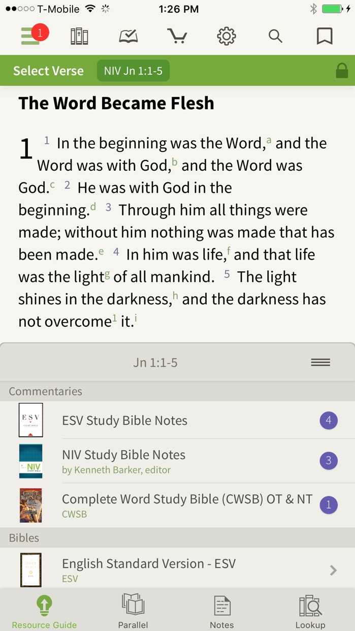 Bible by Olive Tree Screenshot