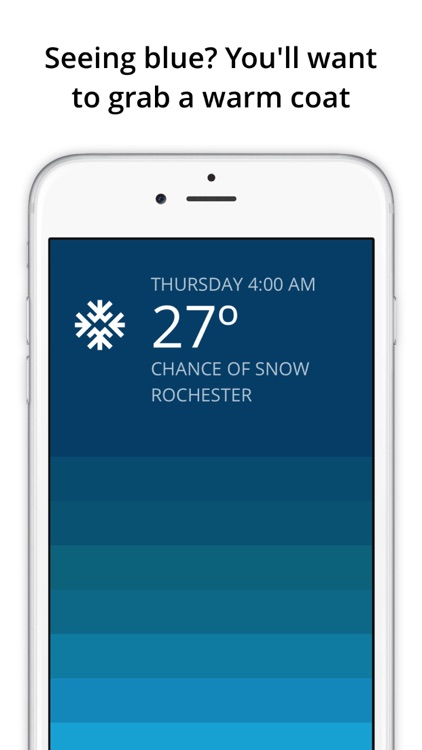 Blue - weather forecast screenshot-2