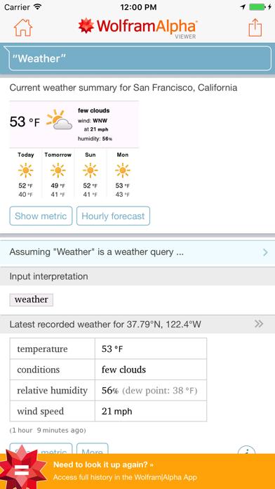 WolframAlpha Viewer for Windows