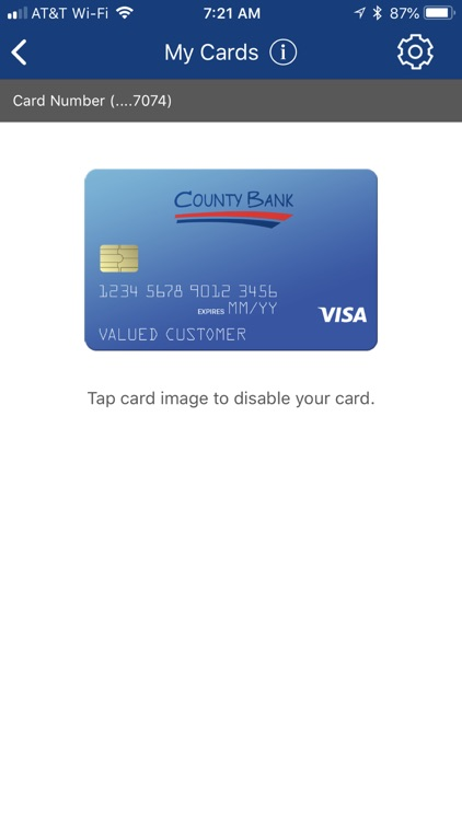 County Bank BIZ screenshot-3