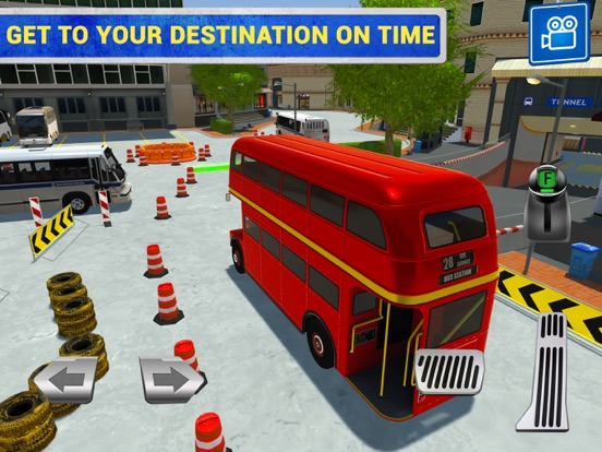 City Bus Driving Sim для iPad
