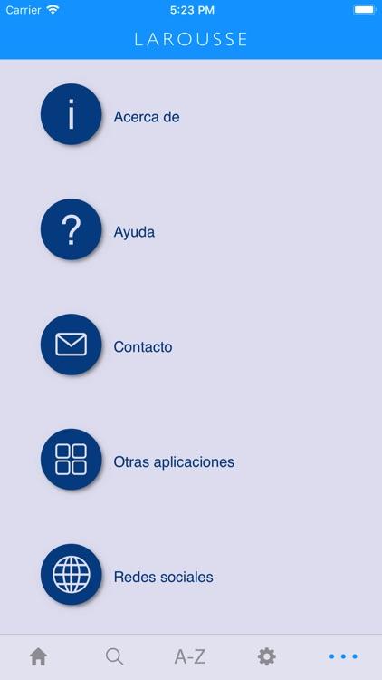 Larousse Spanish Advanced screenshot-4