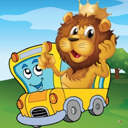Animal Car Games: Cute Puzzles for Kids & Toddlers