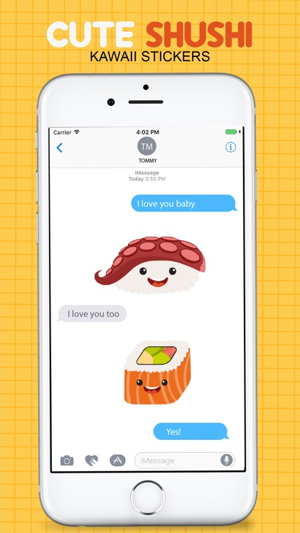 Sushi Kawaii Stickers screenshot-3