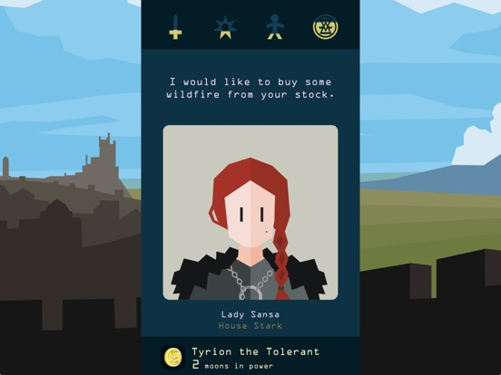 Reigns: Game of Thrones screenshot #1