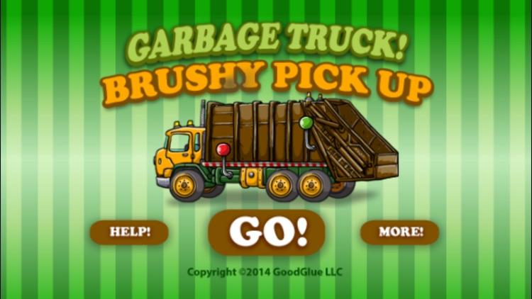 Garbage Truck: Brushy Pick Up