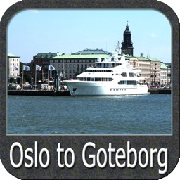 Marine : Oslo to Goteborg - GPS Map Navigator