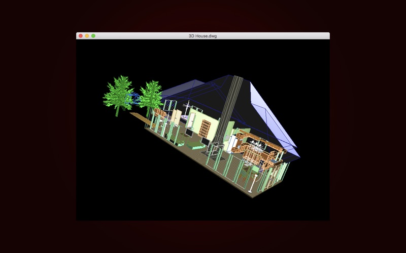 DWG Viewer 3D - For DWG to PDF