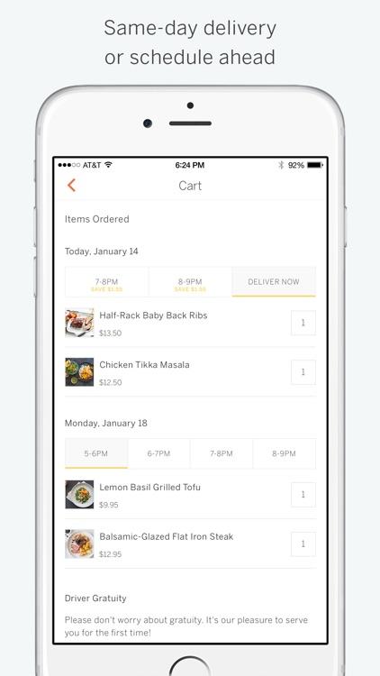 Munchery - Fresh Food Delivery screenshot-3