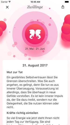 Bild Der Frau Horoskop Im App Store
