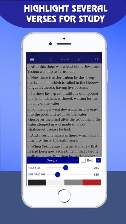 Restored Name King James - KJV screenshot-6