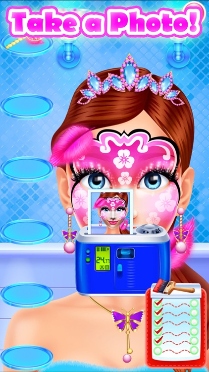 Face Paint Party Salon screenshot-6