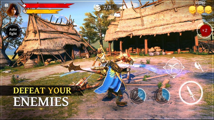 Iron Blade screenshot-0