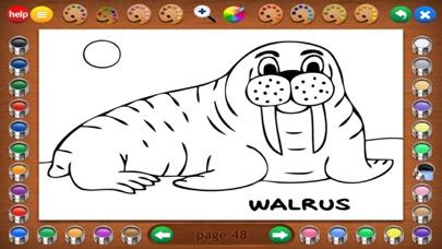 Coloring Book 3: Animals screenshot three