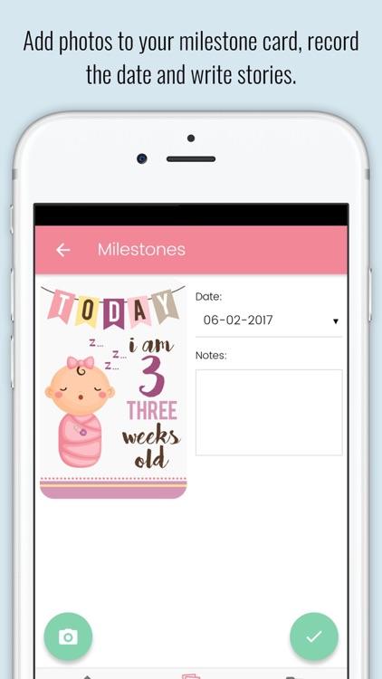 Baby Milestone Cards screenshot-4