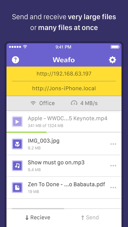 Weafo - Share Photo & Video screenshot-0