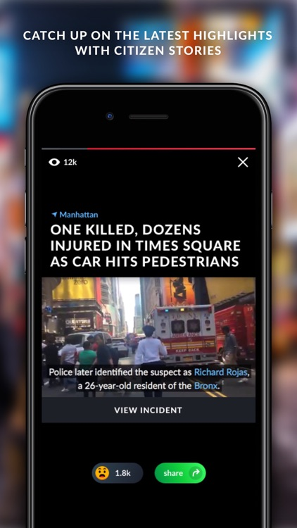 Citizen: Safety & Awareness screenshot-1