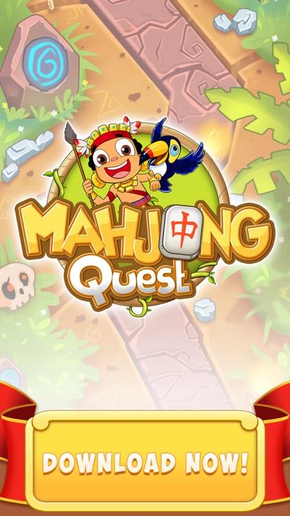 Mahjong Quest - Match Tiles screenshot-4