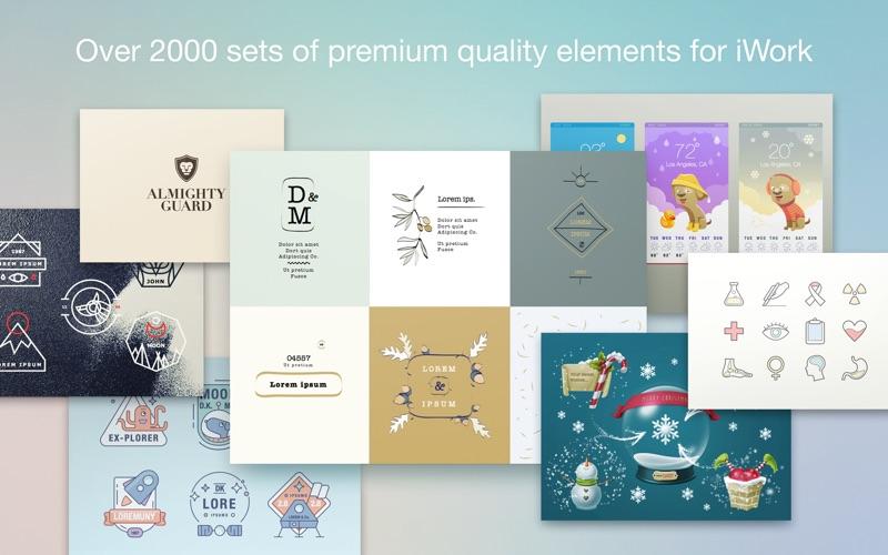 Elements Lab - Templates Screenshots