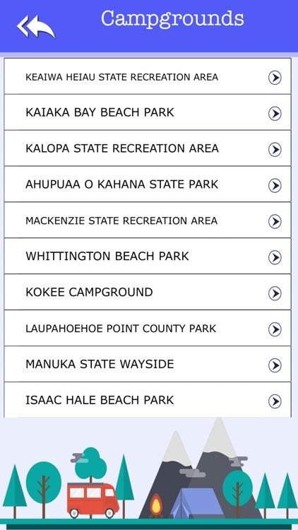 Hawail Camping & State Parks