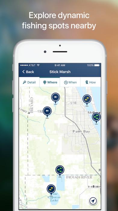 App shopper netfish fishing forecast app sports for Fishing spots app